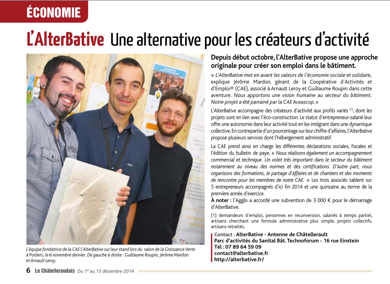 Article Le Châtelleraudais