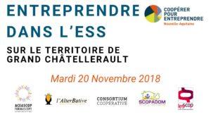 Entreprendre dans l'économie sociale et solidaire sur le territoire de Grand Châtellerault @ Aceascop | Châtellerault | Nouvelle-Aquitaine | France