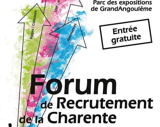 Forum recrutement Charente 2019