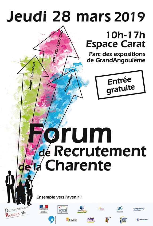 Forum recrutement Charente 2019